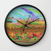 Lost In Flight Wall Clock