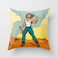 July 14th Throw Pillow