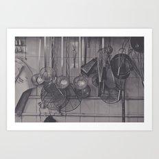 The Kitchen... Art Print