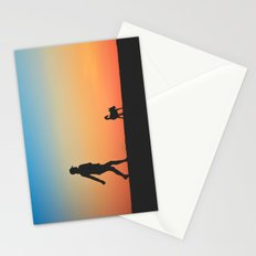 A Walk With a Friend Stationery Cards