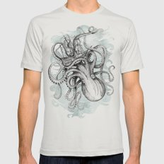 The Baltic Sea Mens Fitted Tee Silver SMALL