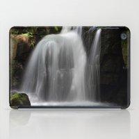 Waterfall At Lumsdale Mi… iPad Case