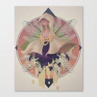 Specter Of Empty Cloaks Canvas Print