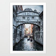 Bridge of Sighs, Venice, Italy Art Print