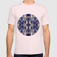 Kaleidoscope Mens Fitted Tee Light Pink SMALL