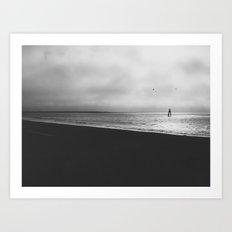 Lifting Fog Art Print