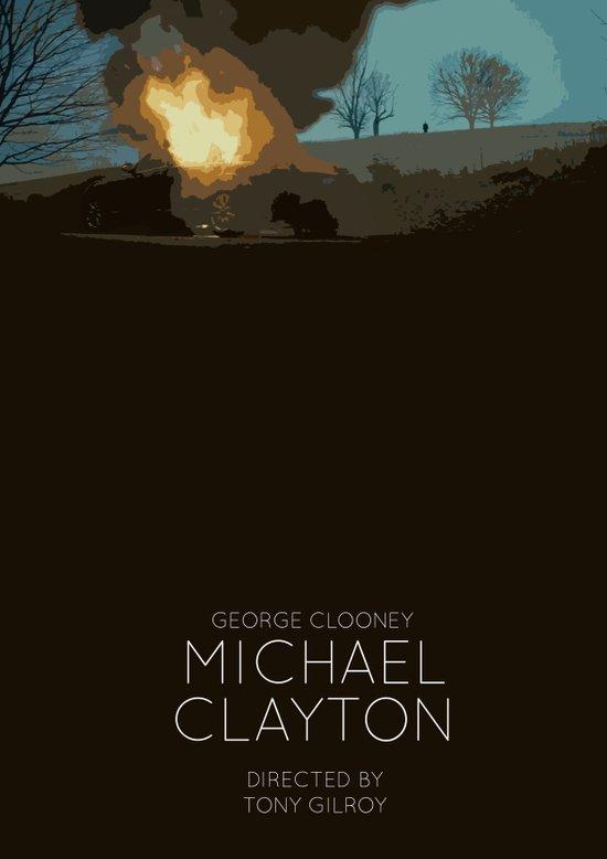 Michael Clayton Art Print