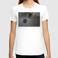 drain Womens Fitted Tee White SMALL