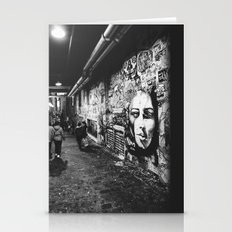 Seattle, Post Alley Mura… Stationery Cards