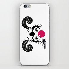 GIUPPY-Black & White iPhone & iPod Skin