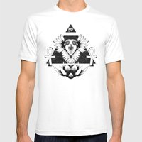 Eye of Infinity Mens Fitted Tee White SMALL