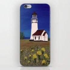 Cape Blanco lighthouse/ Oregon iPhone & iPod Skin