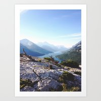 Waterton Bear Hump Art Print