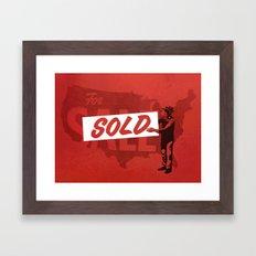 Sold Framed Art Print