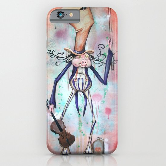 Piggy Fiddler iPhone & iPod Case