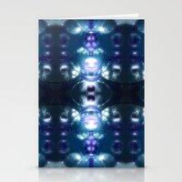 Blue Glass Dream Stationery Cards