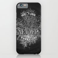 iPhone & iPod Case featuring Newer Every Day by Casey Ligon