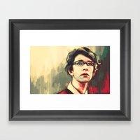 Quartermaster Framed Art Print