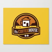 Coffee House Canvas Print