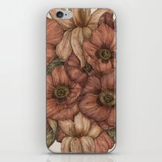 Poppies and Lilies  iPhone & iPod Skin