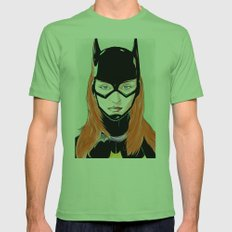 Batgirl Mens Fitted Tee Grass SMALL