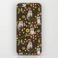 Raccoons iPhone & iPod Skin