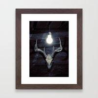 Late idea Framed Art Print