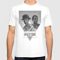 Inspector Spacetime  Mens Fitted Tee White SMALL