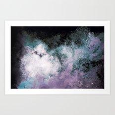 Soaked Chroma Art Print