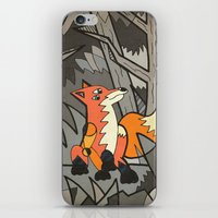 Fox in the Wood iPhone & iPod Skin