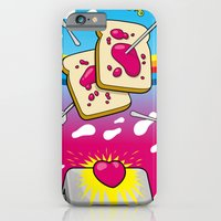 iPhone & iPod Case featuring Breakfast Nirvana by Kazze