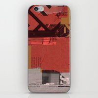 CROSS OUT #9 iPhone & iPod Skin