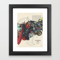Plan Of Attack Framed Art Print