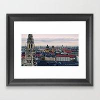 Towering Bavaria  Framed Art Print