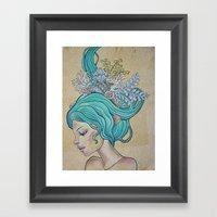 Nereid I Framed Art Print