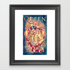 Don't Stop Queen Now Framed Art Print