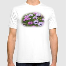 Rejoicing SMALL White Mens Fitted Tee