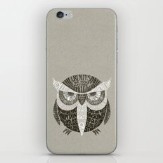 Wise Old Owl Says iPhone & iPod Skin