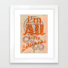Today I'm handing out lollipops and ass-whoopins, and....... Framed Art Print