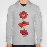 Hanging Poppy Garland Hoody