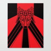 Power Wolf Canvas Print