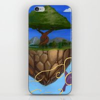 Eden Rises iPhone & iPod Skin