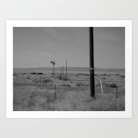 On The Way To Marfa #2 Art Print