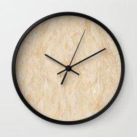 Marble Pastel Wall Clock