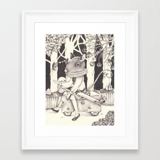 Sally Forth Framed Art Print