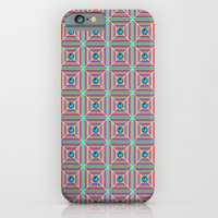 iPhone & iPod Case featuring Connect the Dots Pattern by Peter Gross