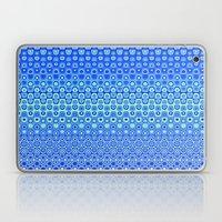 Mosaic Blue Laptop & iPad Skin