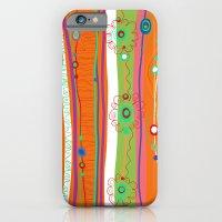 Peacock Pattern B iPhone 6 Slim Case