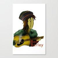 Bob Barley Canvas Print