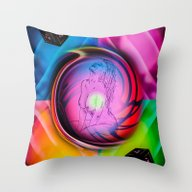 Throw Pillow featuring Dice  Game 4 by Walter Zettl